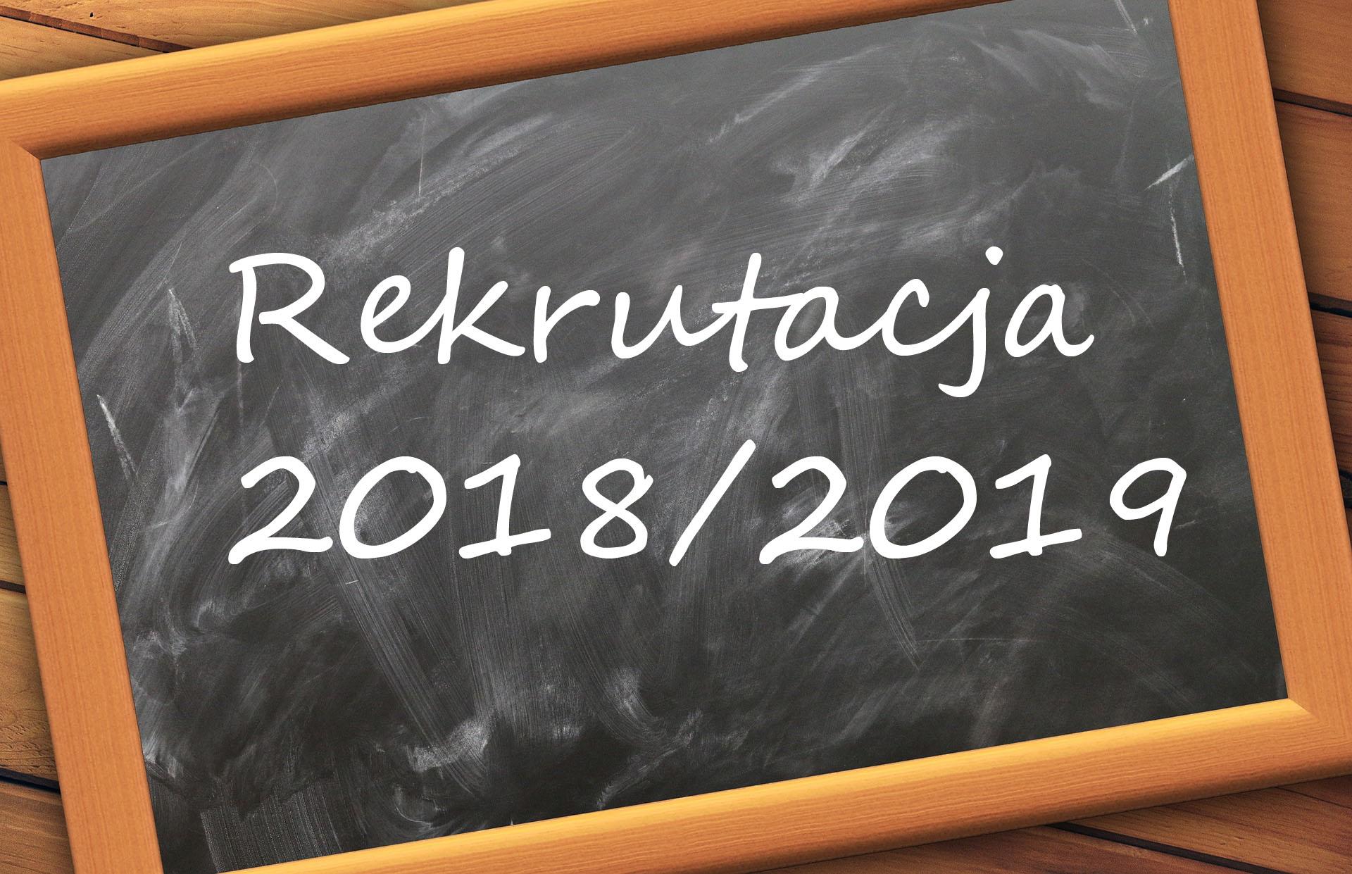 rekrutacja 2018 19